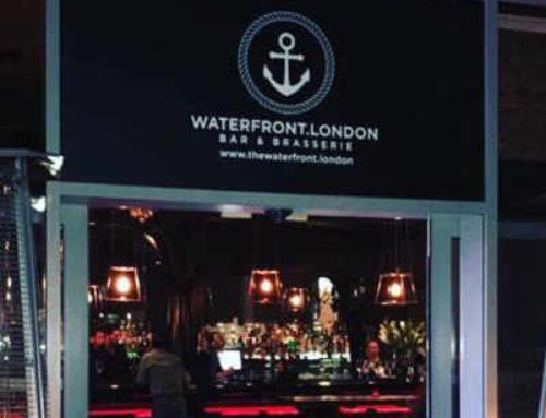 The Waterfront Brasserie – 3 St. George Wharf, Vauxhall-Tel: 020 7735 3600 – Website:www.waterfrontrestaurant.uk – Email:manager@thewaterfront.london